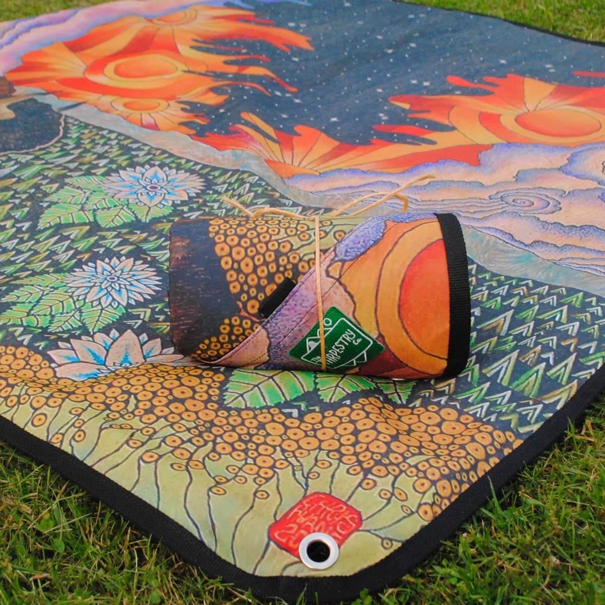 Example of Epic festival blanket