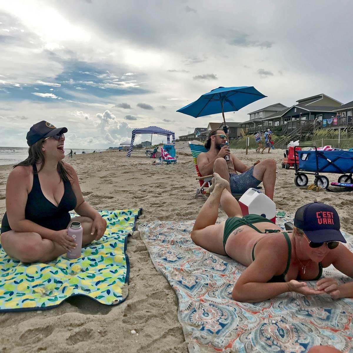 Using Tarpestry at the beach